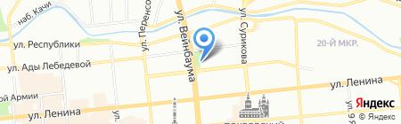 120\/80 на карте Красноярска