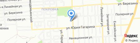 Реал Сервис на карте Красноярска