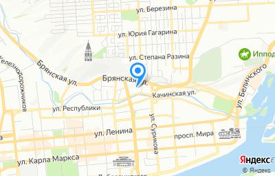 Местоположение на карте пункта техосмотра по адресу г Красноярск, ул Качинская, д 56 стр 5, пом 2