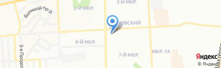 EXPERT на карте Красноярска