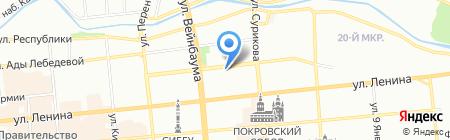 Альтус на карте Красноярска
