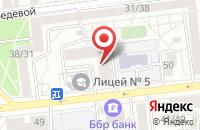 Схема проезда до компании Ленд-Оф в Красноярске