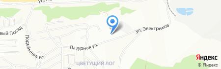Ремпромстрой на карте Красноярска