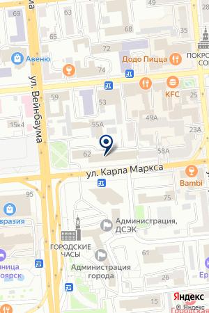 КРАСНОЯРСКАЯ ГОРНО-ГЕОЛОГИЧЕСКАЯ КОМПАНИЯ на карте Красноярска