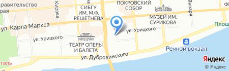 Вокруг света-тур на карте Красноярска