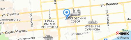 ПОСАД на карте Красноярска