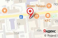 Схема проезда до компании Сибирский Глянец в Красноярске