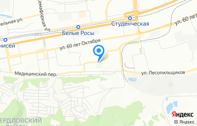 Местоположение на карте пункта техосмотра по адресу г Красноярск, ул Парашютная, зд 88