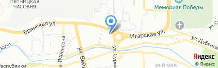 Автостойка 24 Сервис на карте Красноярска