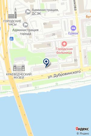 КАФЕ РИВЬЕРА на карте Красноярска