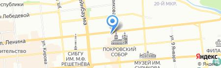 Аптекарь на карте Красноярска