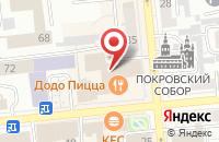 Схема проезда до компании Аэро Сити в Красноярске