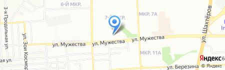 Лагуна тур на карте Красноярска
