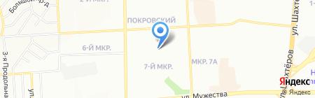Средняя общеобразовательная школа №153 на карте Красноярска
