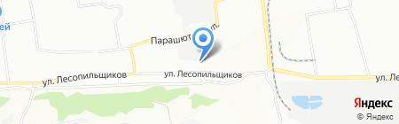 Лора на карте Красноярска