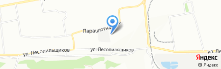 Сибавтотранс на карте Красноярска