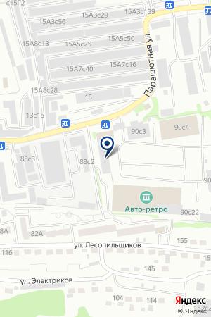 ТРАНСПОРТНО-ЭКСПЕДИЦИОННАЯ КОМПАНИЯ ИНТЕР-АЗИЯ на карте Красноярска