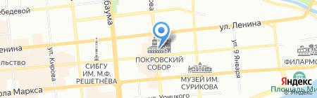 Воскресная школа на карте Красноярска