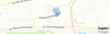 ViZit на карте Красноярска