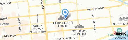 Платежный терминал Восточно-Сибирский банк Сбербанка России на карте Красноярска
