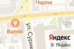 Схема проезда до компании Документы в порядке в Красноярске
