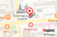 Схема проезда до компании Художественный Фонд в Красноярске