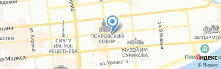 D.S на карте Красноярска