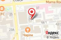 Схема проезда до компании Красноярские Региональные Инженерные Изыскания в Красноярске