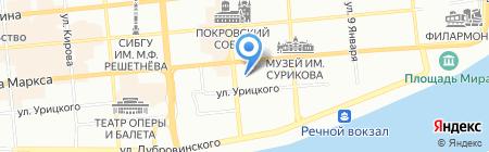 Малибу Тур на карте Красноярска