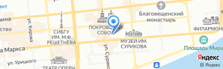 Камея Со на карте Красноярска