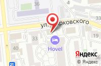 Схема проезда до компании Наш Дом в Красноярске