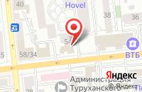 Схема проезда до компании ЮВЕЛИРНЫЙ ОТДЕЛ УНИВЕРМАГ в Бородино