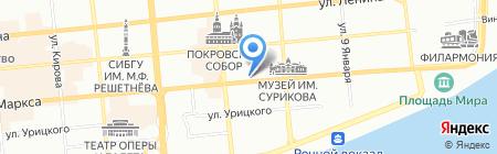 Артикс на карте Красноярска