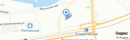 Обувная мастерская на карте Красноярска