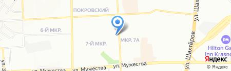 Green Bean на карте Красноярска