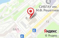 Схема проезда до компании Издательство «Красноярская Пресса» в Красноярске