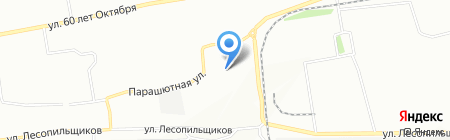 Надежда на карте Красноярска