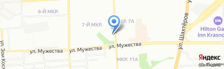 SOCO на карте Красноярска