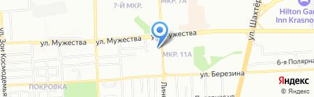 Ярпатентъ на карте Красноярска