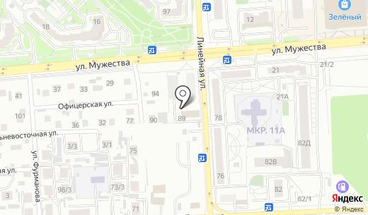 Ярпатентъ. Схема проезда в Красноярске