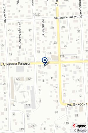 МАГАЗИН АВТОМИР на карте Красноярска