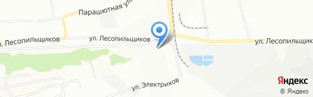 Дасмар на карте Красноярска