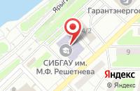 Схема проезда до компании Краскомсервис в Красноярске
