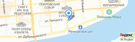 Детский сад №53 на карте Красноярска