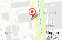 Схема проезда до компании Вега в Красноярске