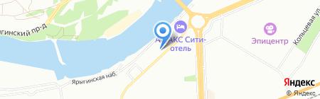 ТеплоМакс на карте Красноярска