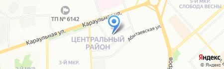 Счастливое детство на карте Красноярска