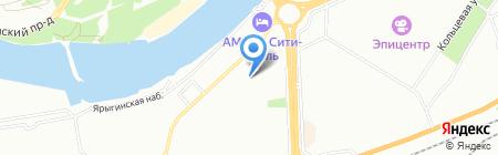 Детский сад №179 на карте Красноярска