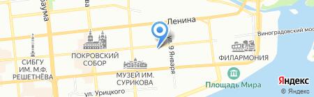 GREENHOUSE Development на карте Красноярска