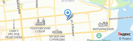 Праздник в радость на карте Красноярска